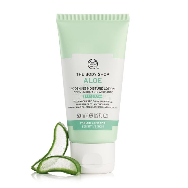 ALOE SOOTHING MOISTURE LOTION SPF 15