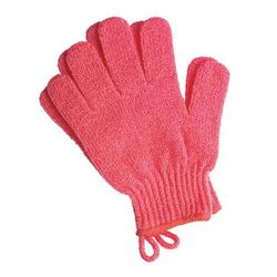 BATH GLOVES - Orange