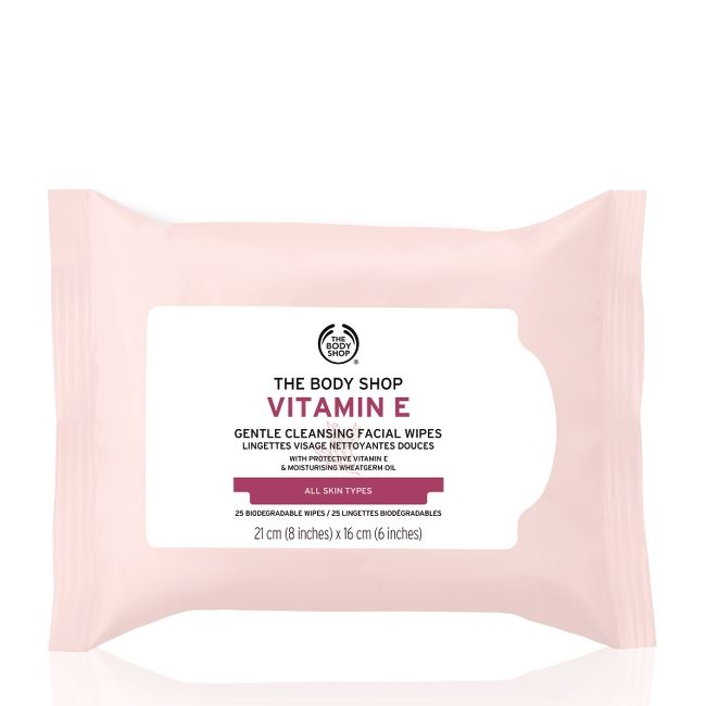 VITAMIN E GENTLE FACIAL CLEANSING WIPES