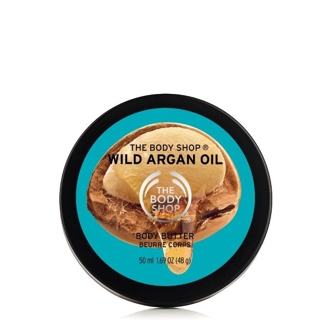 WILD ARGAN OIL SUBLIME NOURISHING BODY BUTTER 50ML