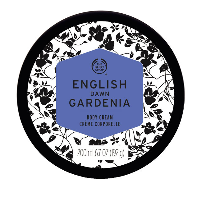 ENGLISH DAWN GARDENIA BODY CREAM