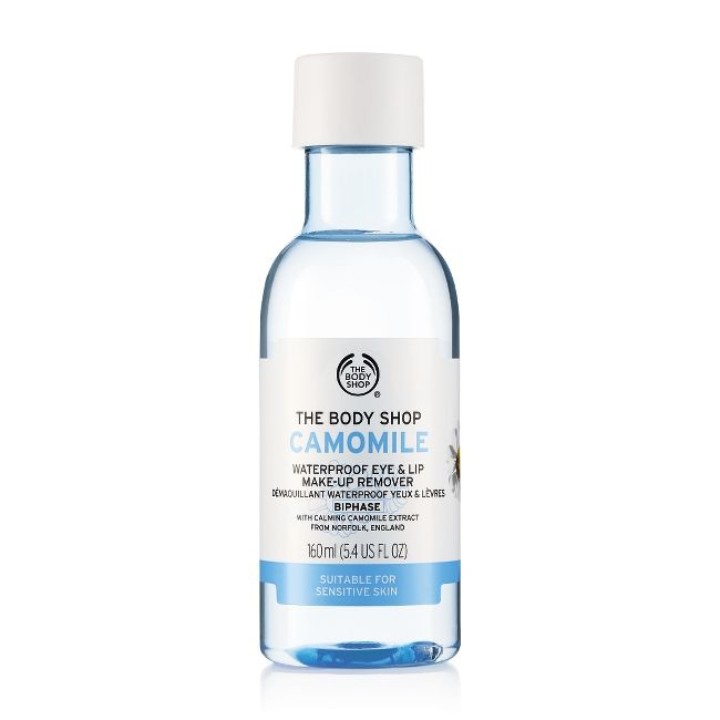 CAMOMILE WATERPROOF EYE & LIP MAKE UP REMOVER