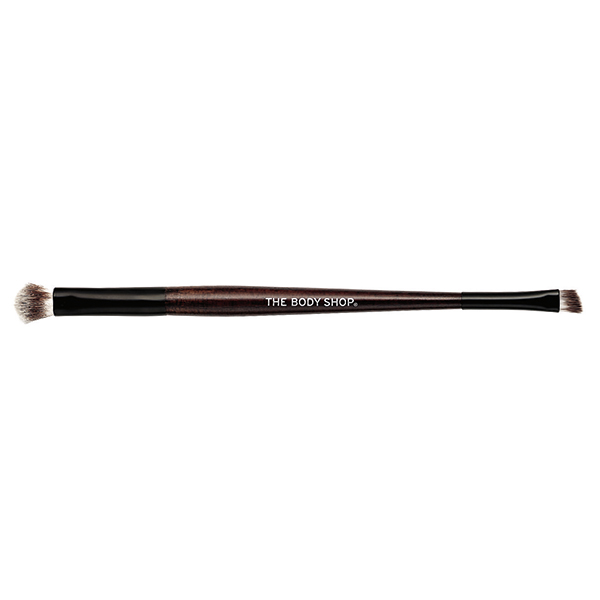 DOUBLE-ENDED EYESHADOW BRUSH