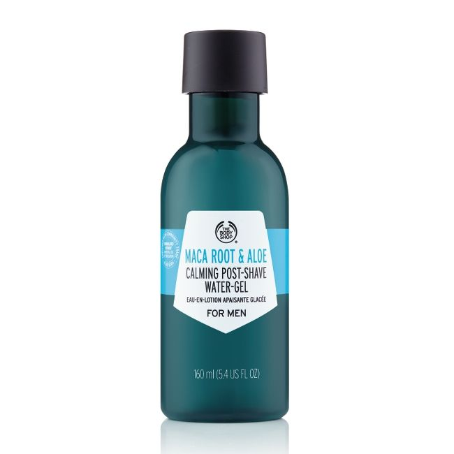 MACA ROOT & ALOE CALMING POST-SHAVE WATER GEL FOR MEN