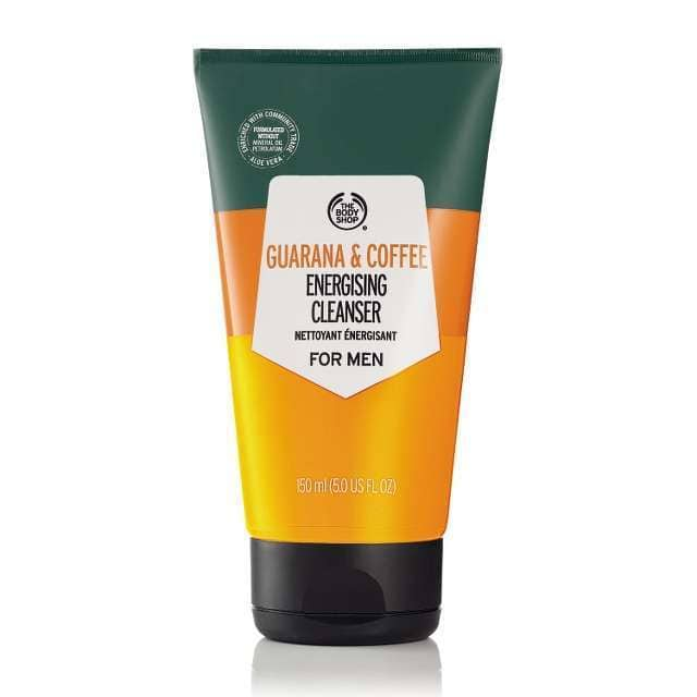 GUARANA & COFFEE ENERGISING CLEANSER FOR MEN
