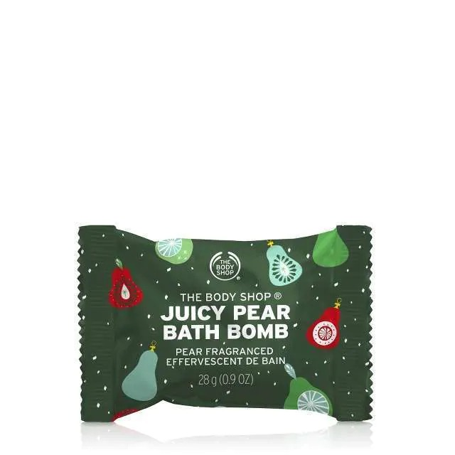 JUICY PEAR SCENTED BATH BOMB