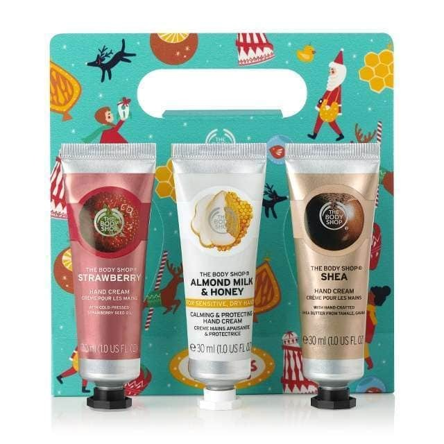 HANDFULS OF HAPPINESS HAND CREAM TRIO